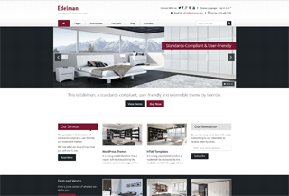 Edelman - WordPress Theme