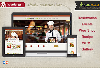 Bella Food Premium Theme