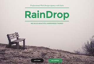 RainDrop - A Rainy Theme