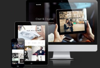 NAMO - Creative WP theme