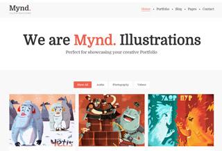 Mynd - Creative Portfolio