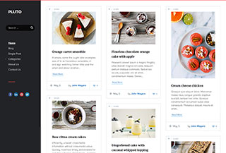 Pluto - Premium WordPress Blog
