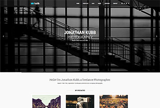 Kubb - Photography WordPress