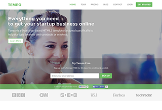 Website Template for Startups