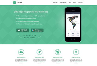HTML5 Template for Mobile Apps