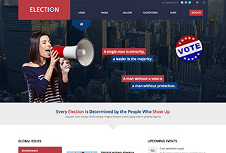 Election - WordPress Theme