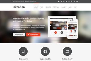 Invention - WordPress Theme