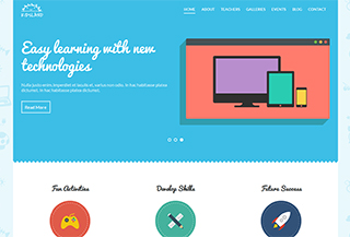 KidsLand Educational Theme