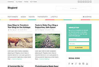 Blogland Premium Theme