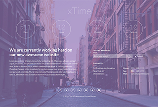 xTime WordPress Theme