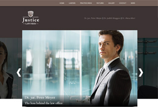 Justice Lawyer Theme