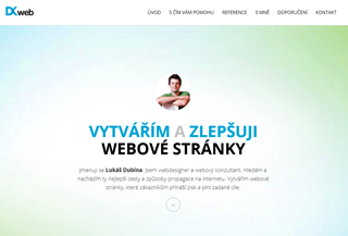 Lukáš Dubina - Webdesigner