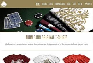 Burn Card Clothing