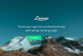 Lamap Landing Page Template