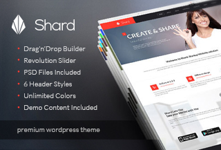 Shard - Premium Business Theme