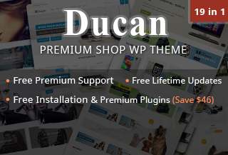 Ducan - Premium WP Shop Theme