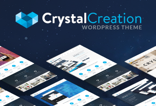 Crystal - WordPress Theme