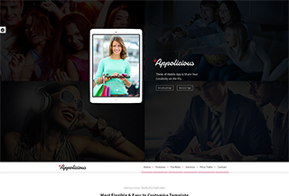 Appolicious Landing Page
