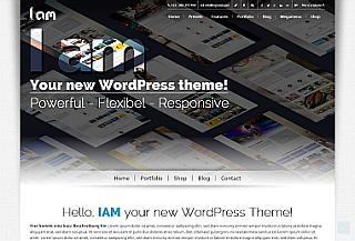 IAM - WordPress Theme