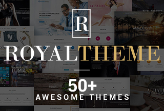 Royal - WordPress ThemeEngine
