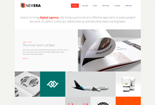 NEWERA - WORDPRESS THEME