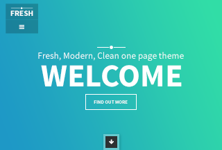 FRESH - One Page Theme