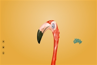 Pablo the flamingo