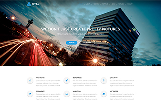 Kitra - WordPress Theme