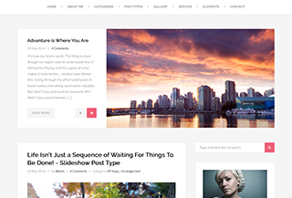 Harmony - WordPress Theme