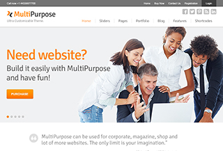 MultiPurpose - WordPress Theme