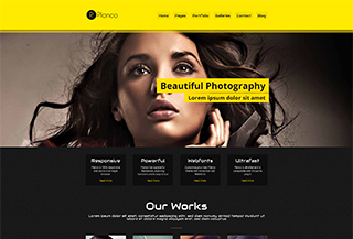 Planco WP Portfolio Theme