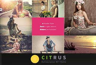 Citrus One Page Theme