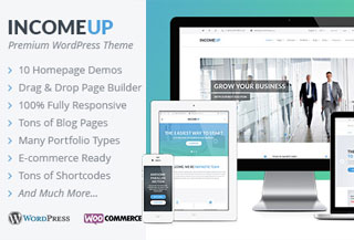 IncomeUp - WP Theme