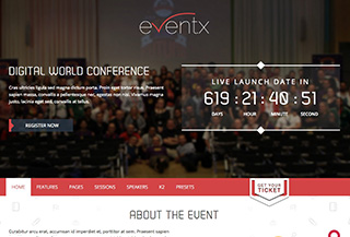 Event - Joomla Event Template