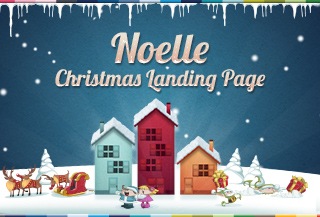 Noelle Christmas Landing Page