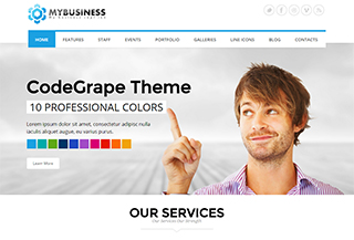 MyBusiness Responsive Template