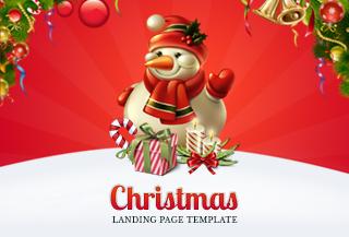 Christmas Landing Page