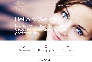 Carina WordPress Portfolio