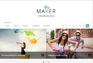 Maker - Blog Theme