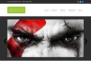 Nuovo WordPress Theme