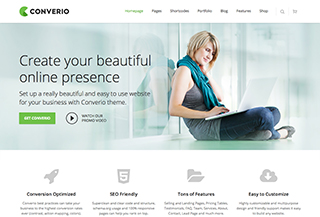 Converio - WordPress Theme