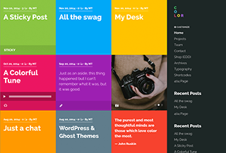 Color Premium WP Theme