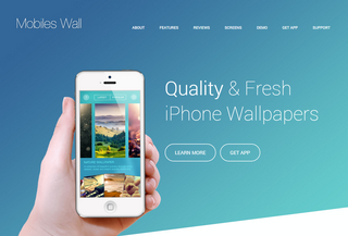 Mobiles Wall App