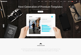 Anderson - Onepage Template