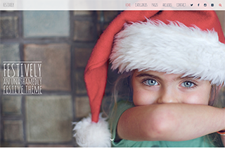 Festively A Festive WP Theme