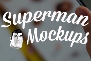 SuperMan Mockups