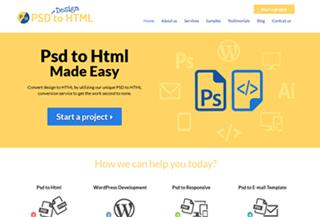 Psd Design To Html
