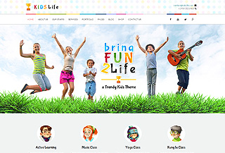 Kids Life Children Template