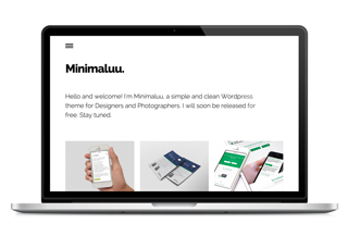Minimaluu FREE WordPress Theme