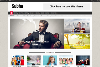 Subha-Wordpress Magazine Theme